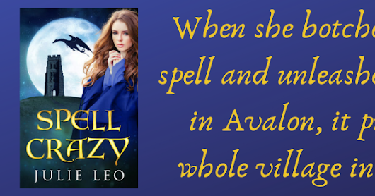 ✱✱Book Review✱✱ Spell Crazy by Julie Leo