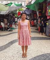 Wearable muslin, Sweetheart dress
