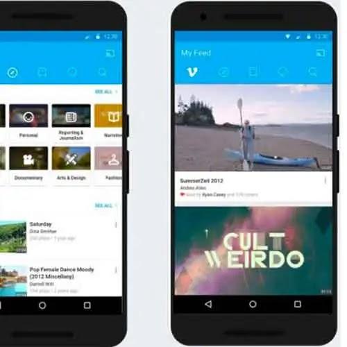 """في السابق يمكنك إضافة محتوى جديد إلى Vimeo من خلال التطبيق ومع ذلك  كان عليك تسجيل مقاطع الفيديو في تطبيق آخر ثم إرسالها عبر علامة التبويب """"تحميل"""" هذا هو المكان الذي أضافت فيه Vimeo ميزات التسجيل الجديدة"""