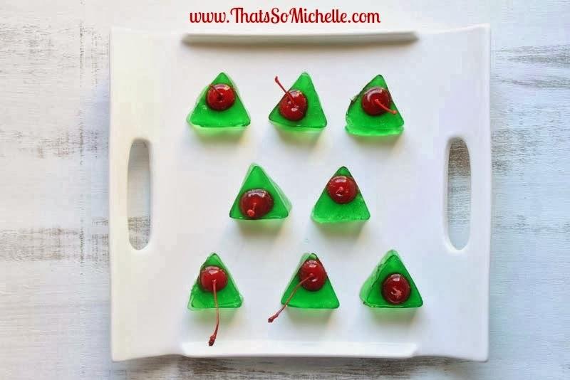 That's So Michelle...: Christmas Tree Jello Shots