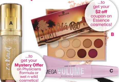 Physicians Formula Mystery Coupon Alert