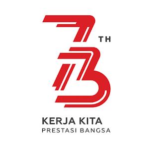 Logo Resmi HUT RI ke-74 tahun 2019