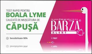 TEST Rapid pentru Boala Lyme BARZA pareri forumuri medicale