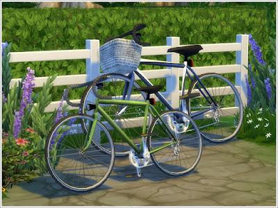 The Sims 4, предметы для The Sims 4, Симс 4, Severinka_, моды для The Sims 4, мебель для The Sims 4, декор для The Sims 4, транспорт в The Sims 4, декоративный транспорт The Sims 4, велосипеды в The Sims 4, велосипед для оформления участка, декоративные велосипеды, декор для двора The Sims 4, уличный декор The Sims 4,