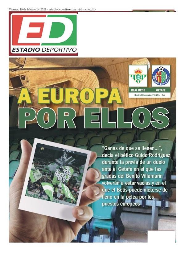 """Betis, Estadio Deportivo: """"A Europa por ellos"""""""