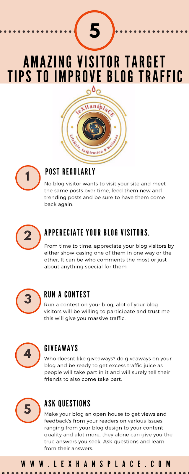 5 amazing visitor target tips to improve blog traffic