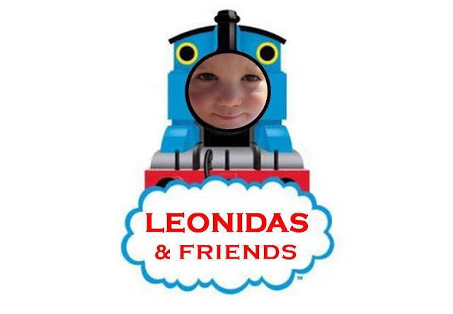 Thomas and Friends train party invite