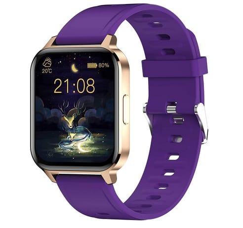 WallPacle 1.7 inch Fit Smart Watch with Heart Rate Monitor
