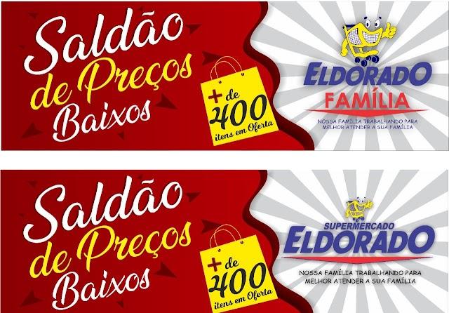 Eldorado = Mais de 400 itens no saldão de preços baixos