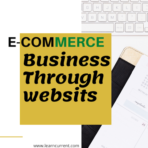 What is e-commerce | sites | advantages | disadvantages | Before startup 2020?