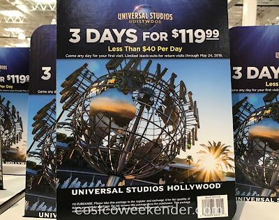 Enjoy Harry Potter, King Kong and Jaws with the Universal Studios 3 Day Ticket