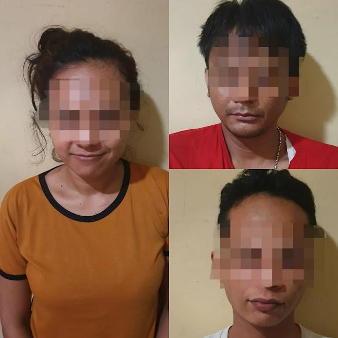 Tiga Orang Pelaku Penyalahgunaan Narkoba Diamankan Polres Serang Kota