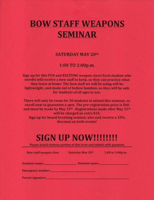 NFMA Bow Staff Seminar