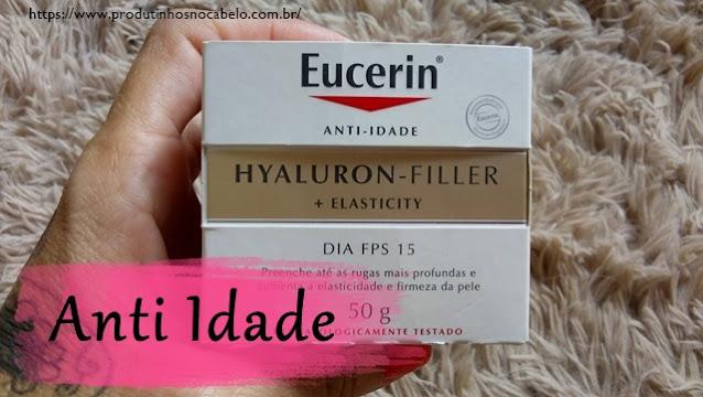 embalagem Eucerin Hyaluron Filler Elasticity Dia FPS 15