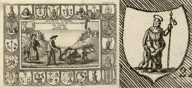 Primer escudo reconocido de Valdepeñas
