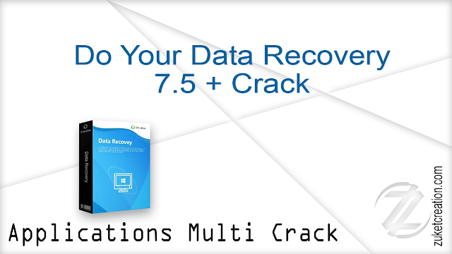 Do Your Data Recovery 7.5 + Crack