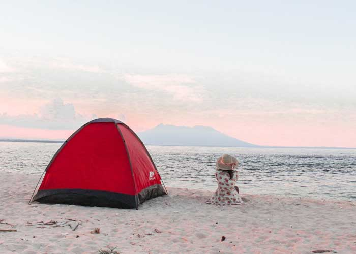 Fasilitas Wisata di Tabuhan Island