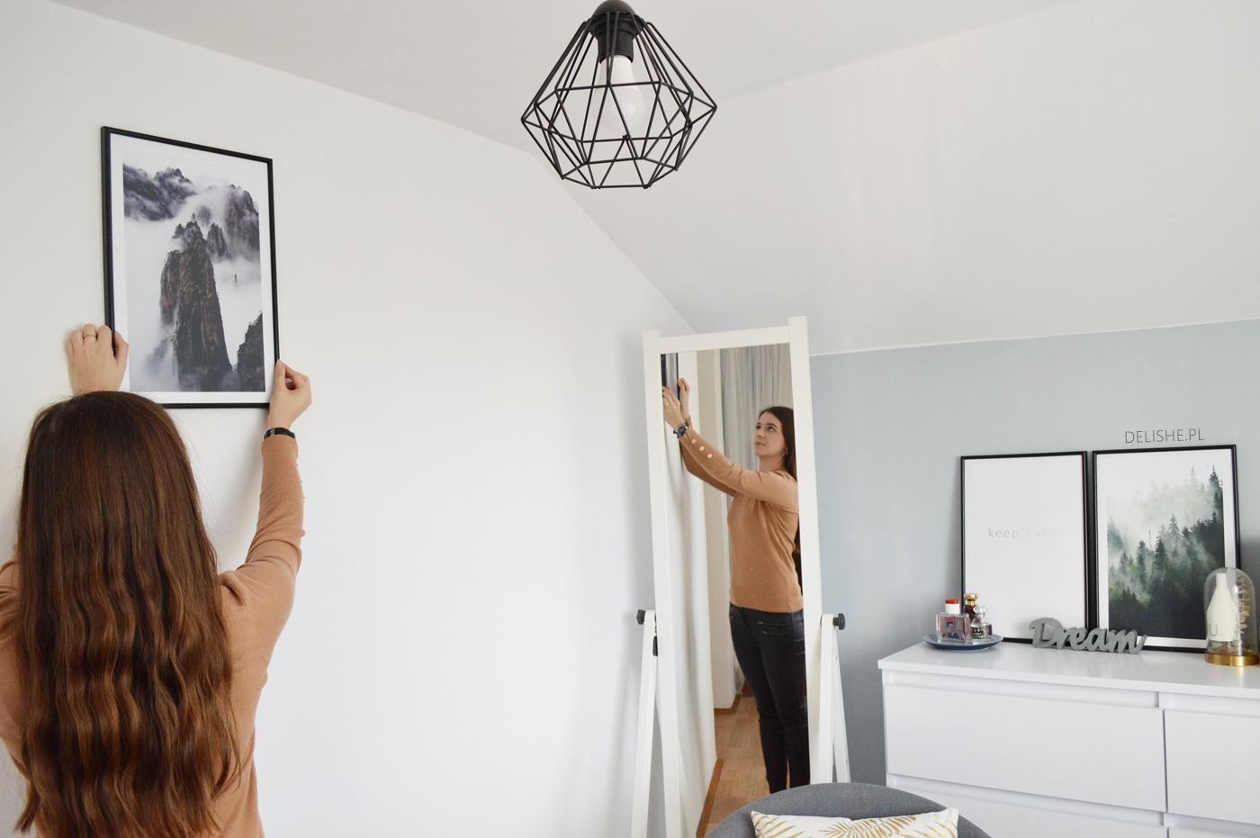 plakaty, aby zmienić swoje wnętrze minimalizm
