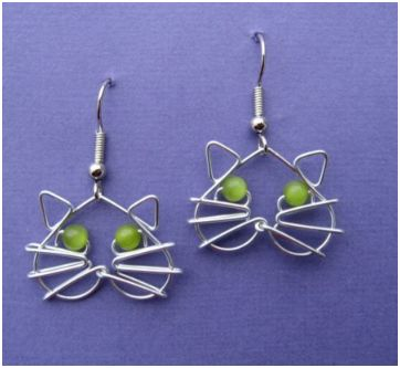 Whimsical Animal Wire Work Jewelry by Chatnoir77 The Beading Gems