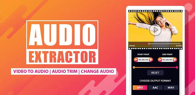 تنزيل Audio Extractor برنامج تحويل الفيديو إلى ملفات صوتية
