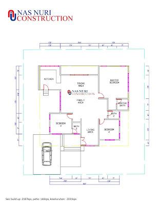 pelan-rumah-1-tingkat-3-bilik-3-bathroom-2 lay out