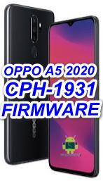 Oppo A5 2020 CPH1931 A27 Offical Firmware