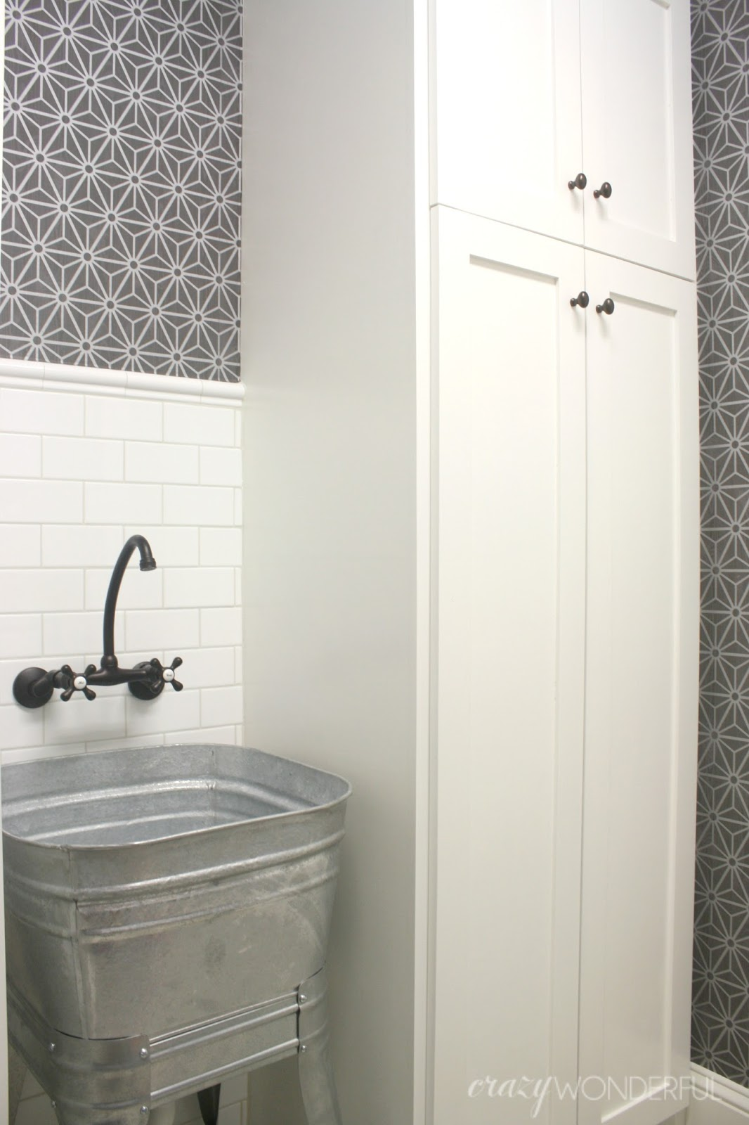 how to fix the wrong grout color - Crazy Wonderful