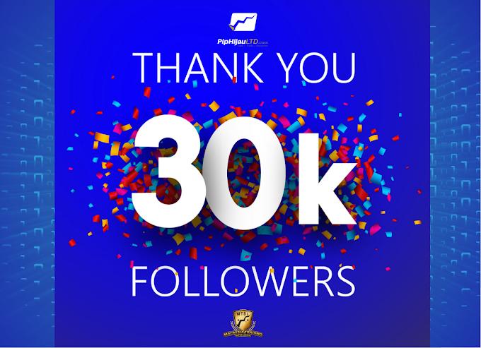 Piphijau Limited sudah cecah 30 ribu follower