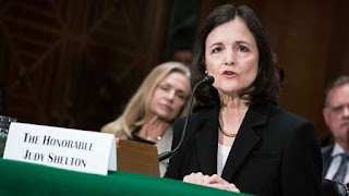 The candidacy of Judy Shelton, an economic adviser to Mr. Trump's 2016 presidential campaign