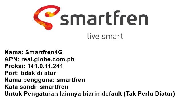 cara setting apn smartfren 4g lte