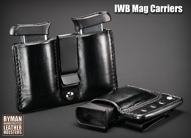Leather Mag Carrier, backup mag, magazine