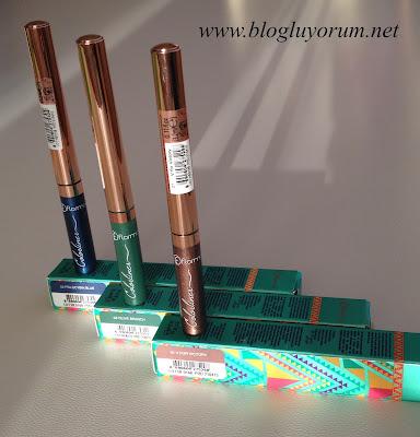 Renkli Likit Eyeliner Flormar Colorliner 1