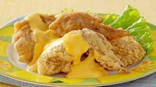 Resep Sayap Ayam Saus Keju