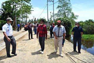 PT SGSR Sulap Tongkang Jadi Jembatan Dan Sebabkan Banjir, DPRD Tapteng Minta Itu Dibongkar