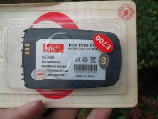 baterai Samsung SGH-E700 jadul merk NK