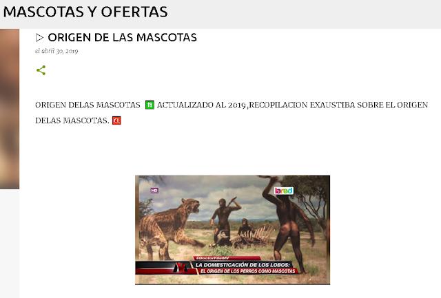 MASCOTAS Y OFERTAS