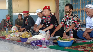 LMPI Macab Jepara Gelar Doa Bersama Dan Renungan Di Komplek Makam Syeh Hasan Desa Bandengan
