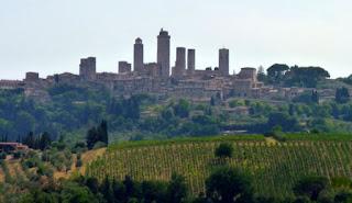 Skyline de San Gimignano.