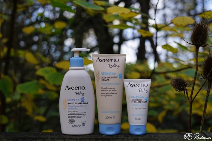 Aveeno's Baby Dermexa Range