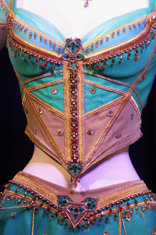 Aladdin Princess Jasmine costume detail
