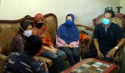 25 Risma KRI Nanggala-402 Tenggelam, Risma Bertemu Keluarga Viral Lettu Imam Adi Dikurung Putranya