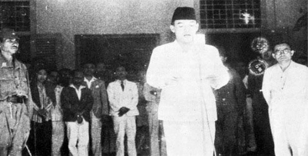 Dukungan Spontan Terhadap Proklamasi Kemerdekaan Indonesia