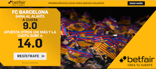 betfair supercuota liga Barcelona gana Alaves 19 julio 2020