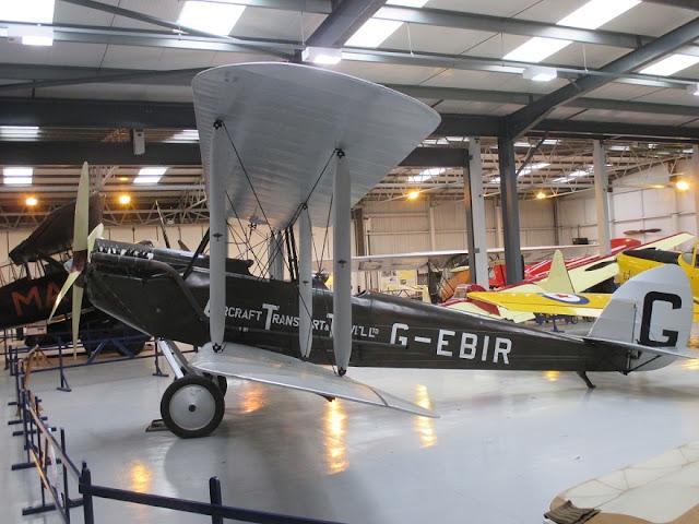 1/144 Shuttleworth diecast metal aircraft miniature De Havilland DH51