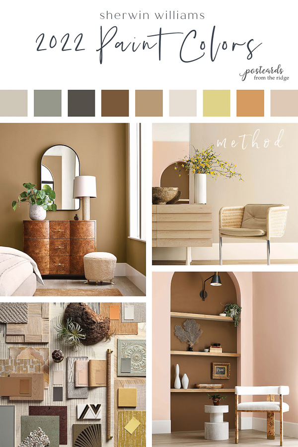 sherwin williams 2022 paint color forecast