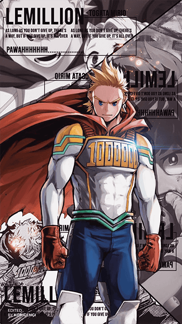 Mirio Togata (Lemillion) - Boku no Hero Academia Wallpaper