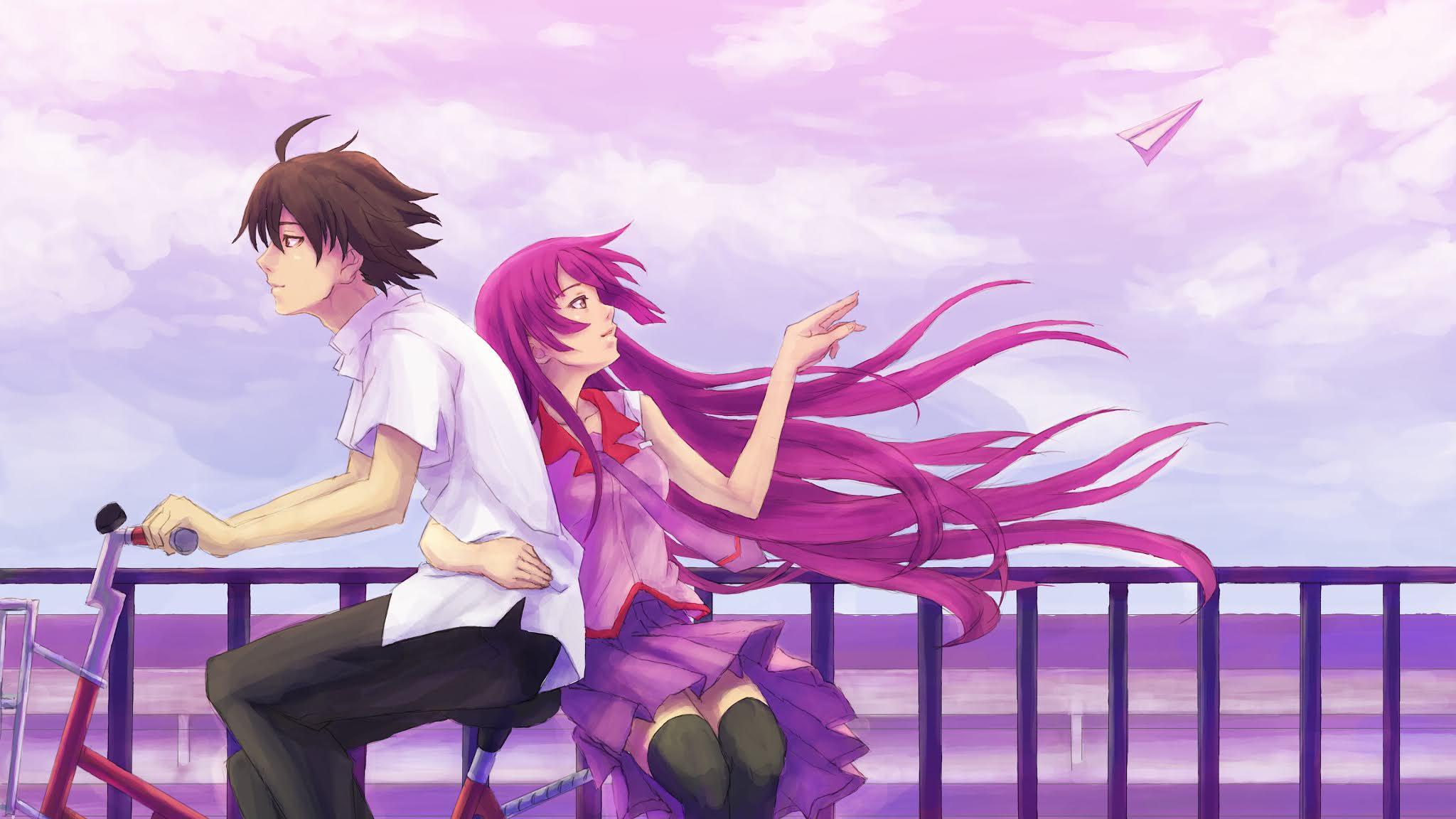 Cute Anime Couple Wallpaper