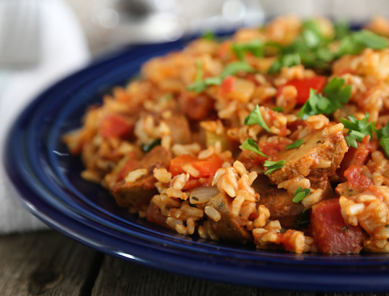 Vegetarian Jambalaya - Fort Lauderdale Personal Chef