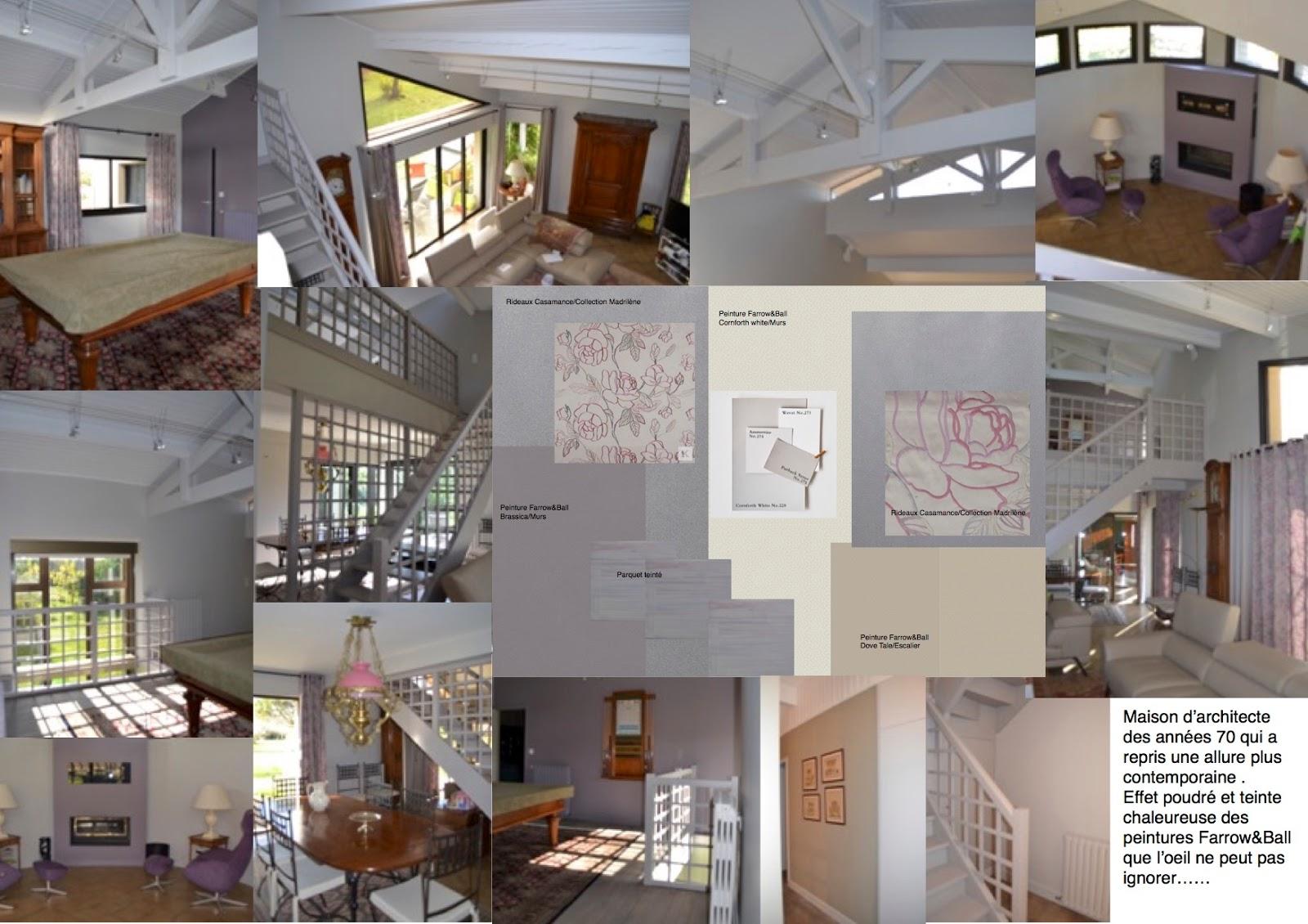D coratrice d 39 int rieur bordeaux 33 architecte et - Maison avec interieur moderne et styles differents dans chaque piece ...