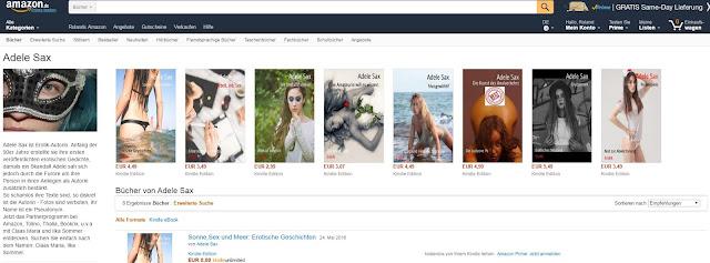 Adele Sax bei Amazon